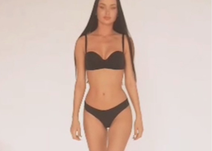 Model Sveta in a new video
